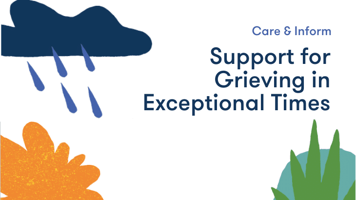 support for grieving in exceptional times